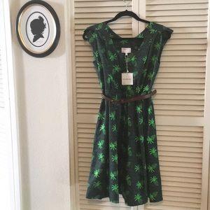 NWT Hi There! By Karen Walker Pineapple Dress